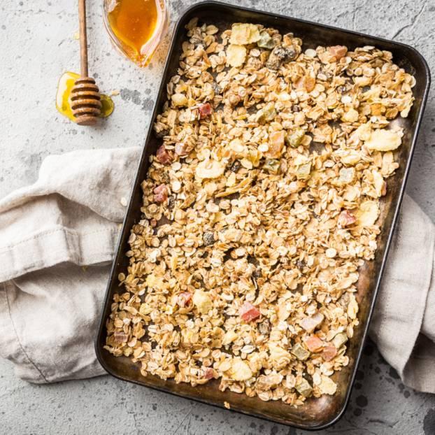 Baked Oatmeal: Rezept für den Frühstücksauflauf