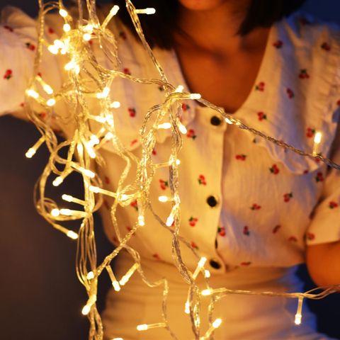 Lichterkette basteln - so einfach geht's!