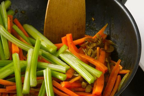 Gemüse dünsten