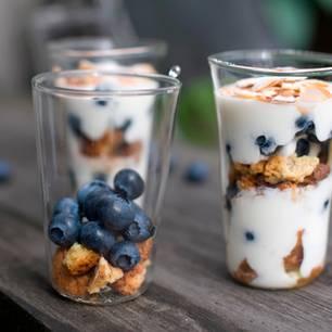 Heidelbeer-Trifle