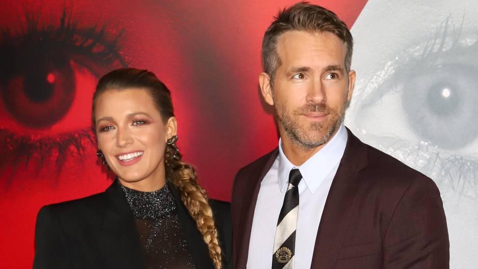 Ryan Reynolds postet lustige Schnappschüsse von Blake Lively
