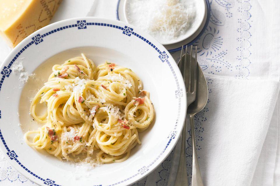 Spaghetti carbonara - das Original