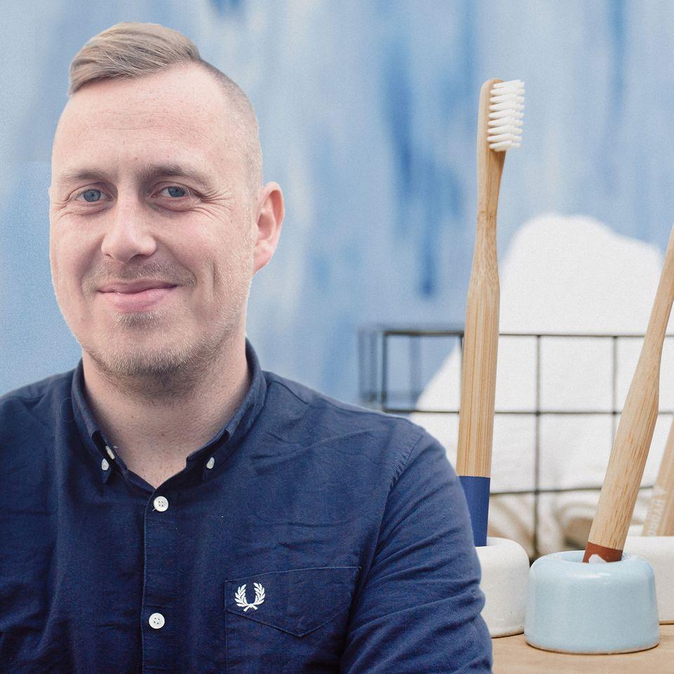 """Christoph Laudon von HYDROPHIL: """"Wir sind nicht mehr die Spinner mit der Bambuszahnbürste!"""""""
