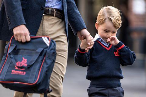 Prinz George wurde von einer Moderatorin verspottet