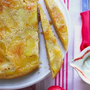 Gestürzter Apfelkuchen