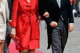 Skandalkleider der Royals: Prinzessin Maxima mit Hut und Prinz Willem Alexander