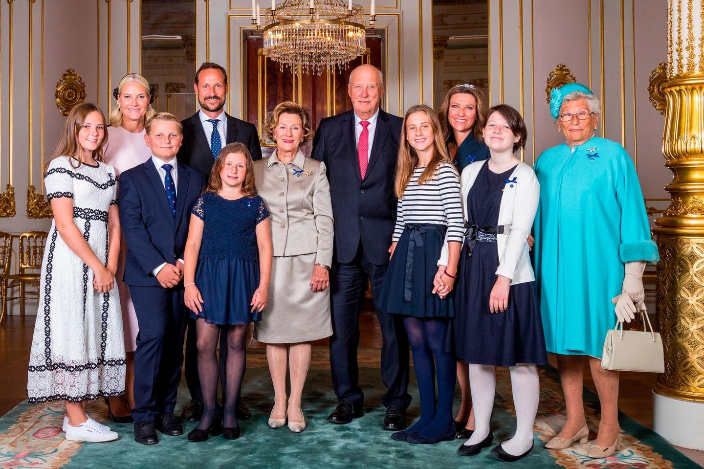 Skandalkleider der Royals: königliche Familie von Norwegen