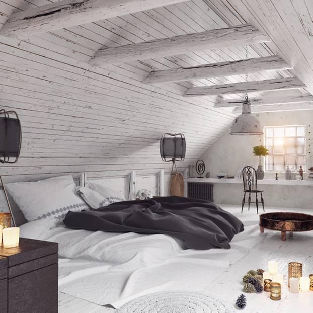 Dachschräge einrichten - die schönsten Wohnideen   BRIGITTE.de