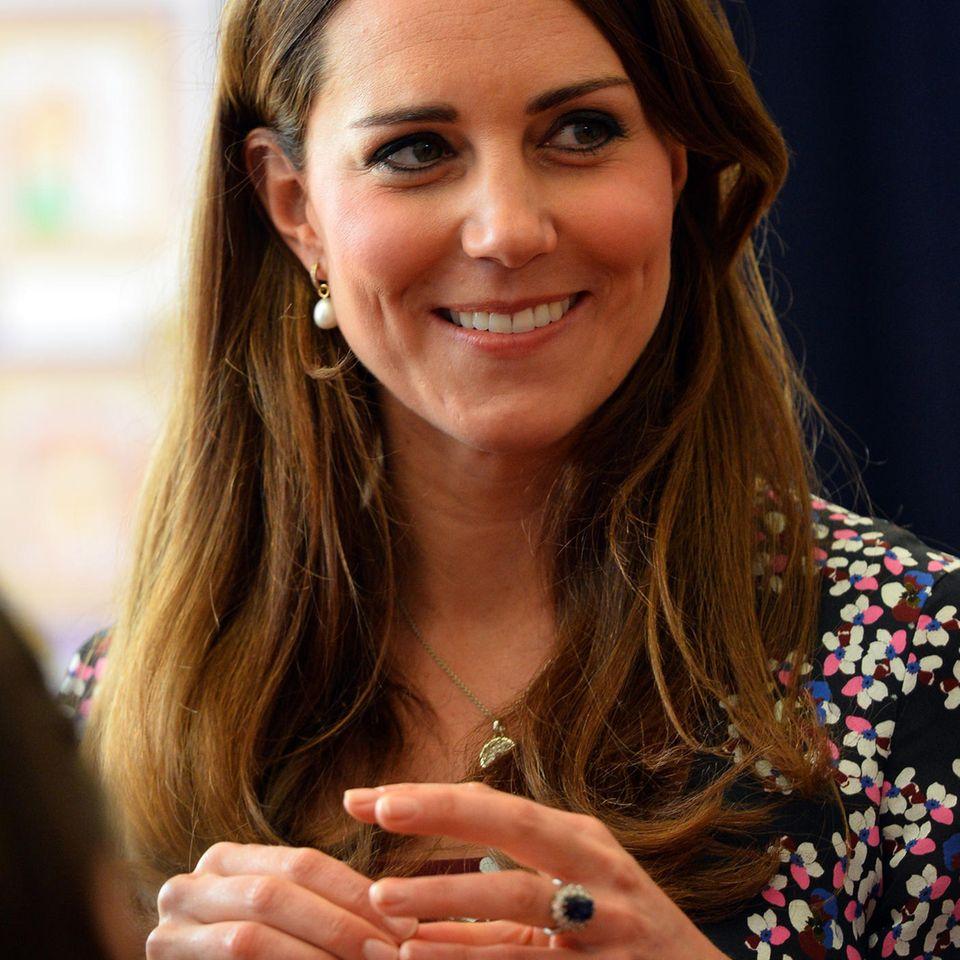 Herzogin Kate: Verlobungsring war für Meghan bestimmt