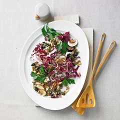 Champignon-Salat