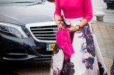 Schuhe der Royals: Königin Maxima von den Niederlanden in Pink