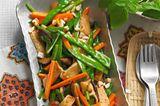 Marinierter Tofu mit Asia-Gemüse