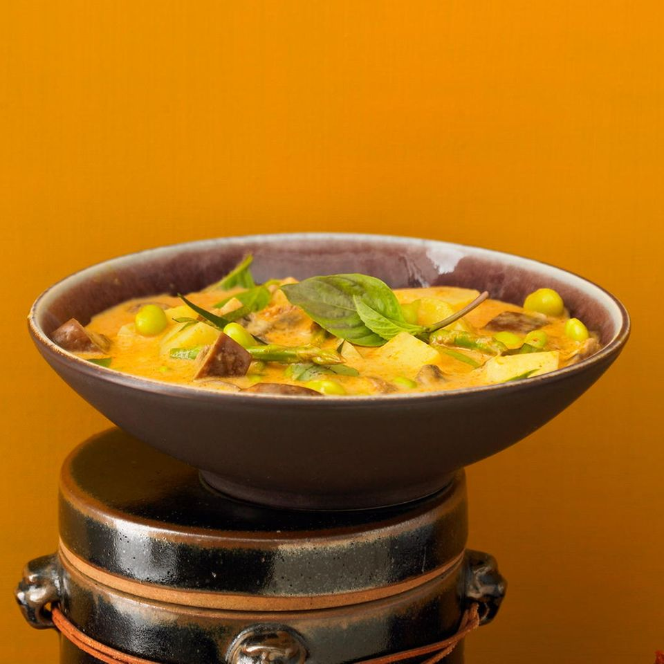 Rotes Gemüse-Curry