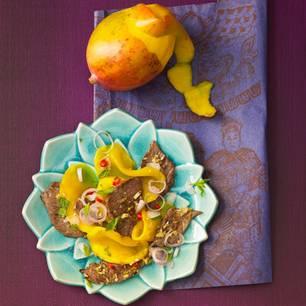 Rindfleischsalat mit Mango