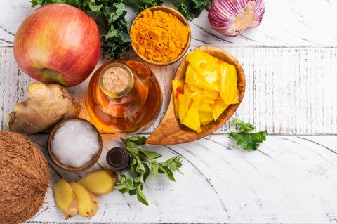 Candida Diät: Lebensmittel zur Auswahl
