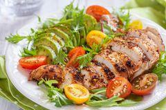 Thonon-Diät: Low-Carb Salat