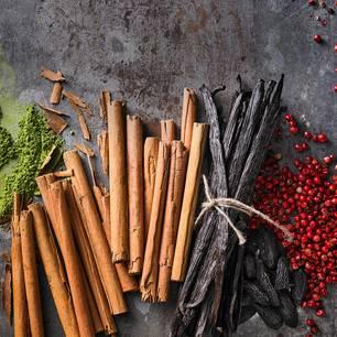 Weihnachtsgewürze: Zimt und Vanille