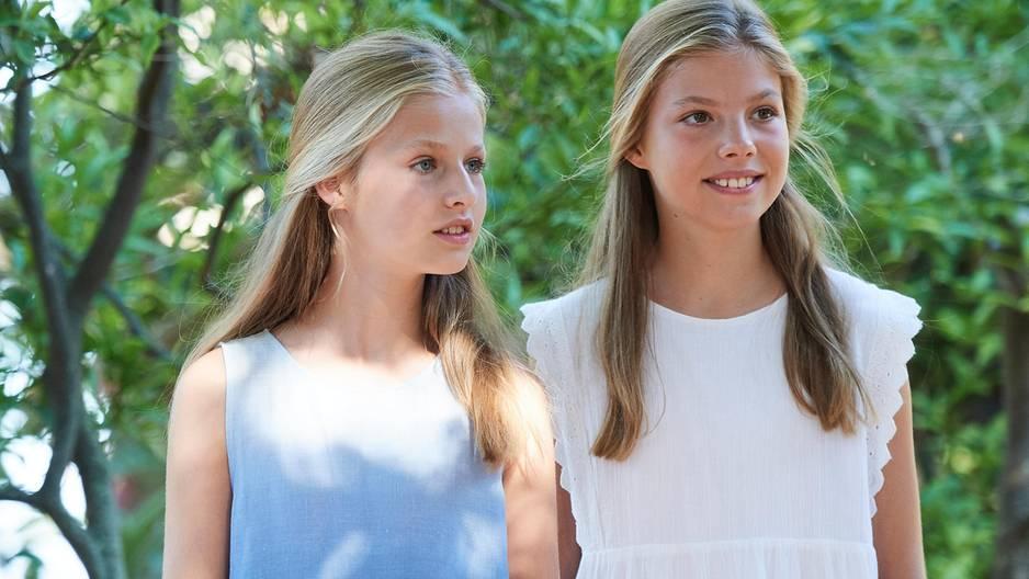 Prinzessin Leonor: Mit diesem Trick macht sie sich so groß wie ihre Schwester