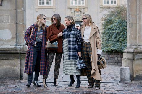 Copenhagen Streetstyle: Vier Frauen im Herbstlook