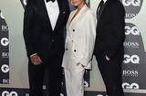 Promi Events: Familie Beckham posiert vor Fotowand