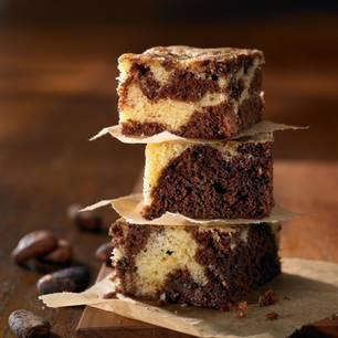 Marmorierte Brownies