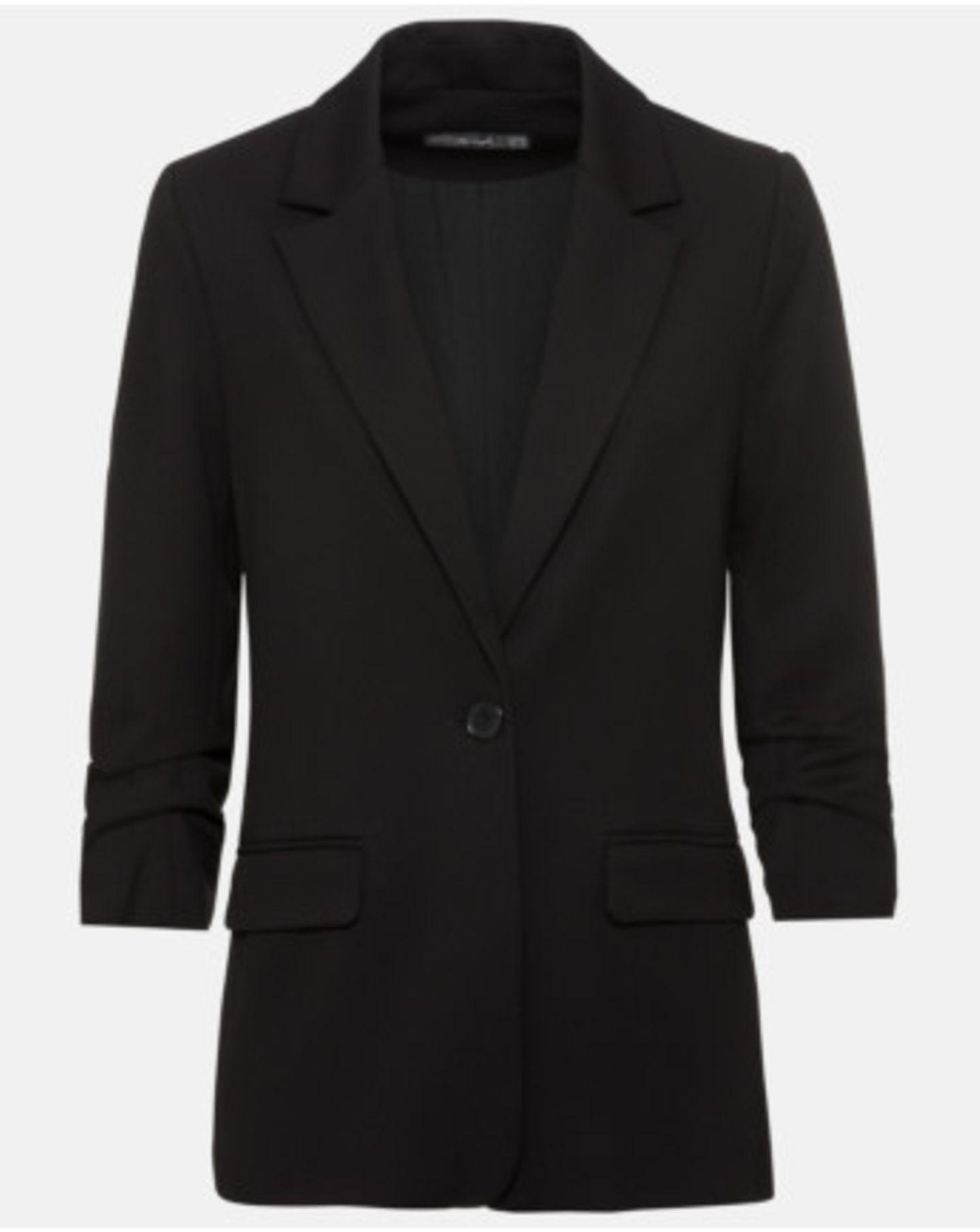 1 Style, 2 Looks: schwarzer Blazer
