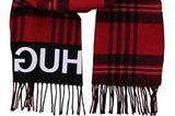 rot schwarz karierter Schal