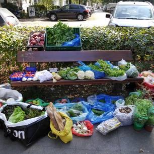 foodsharing: Gerettete Lebensmittel