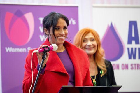 Herzogin Meghan: Rückkehr aus der Babypause