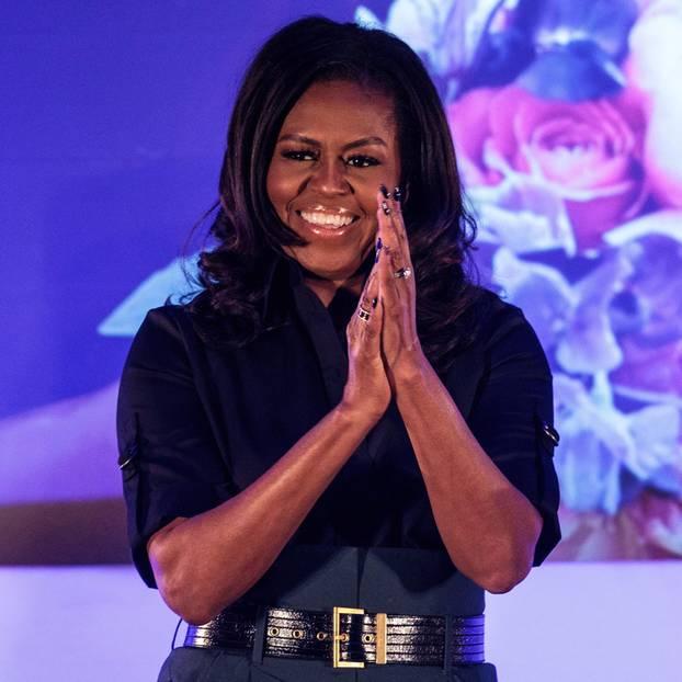 Michelle Obama teilt Kinderfoto mit Botschaft