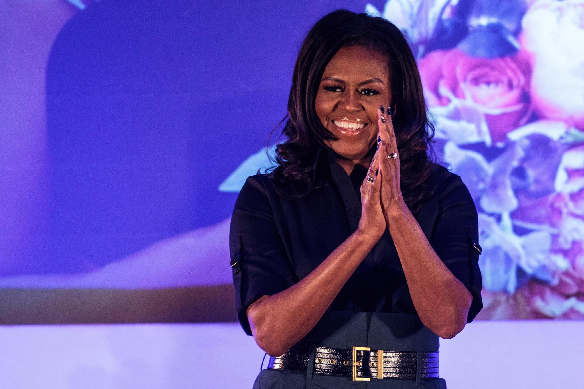 Michelle Obama als Schulmädchen: Dieses süße Kinderfoto versteckt eine Botschaft 