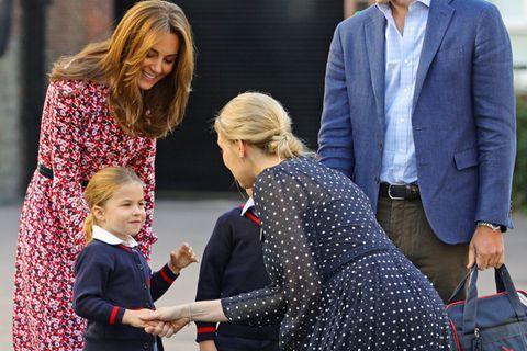 Prinzessin Charlotte: Das sagte Kate bei der Einschulung