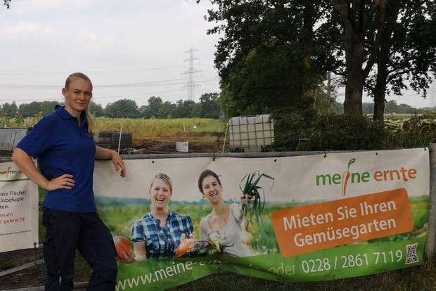 Kathrin Rehders leitet den Bauernhof