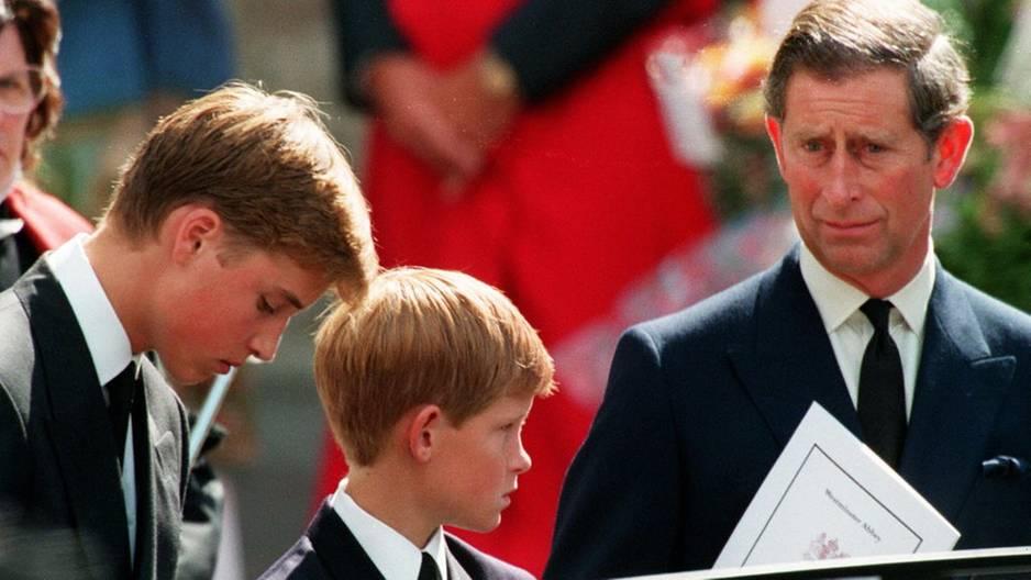 Nach Lady Dianas Tod: Mit dieser Bitte hat sich Prinz Harry an seinen Vater gewandt