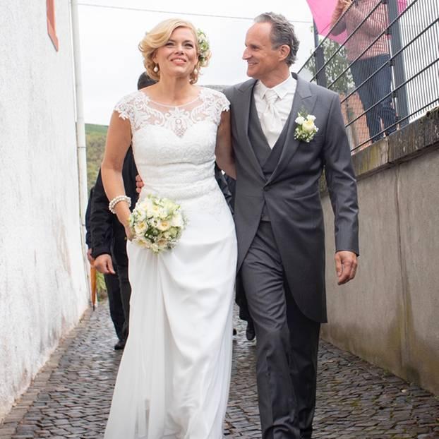 Julia Klöckner und Ralph Grieser