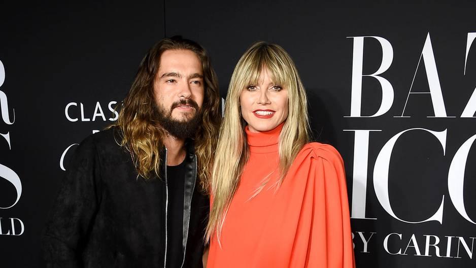 Heidi Klum und Tom Kaulitz ernten mit ihrem erstem Auftritt als Ehepaar viel Kritik