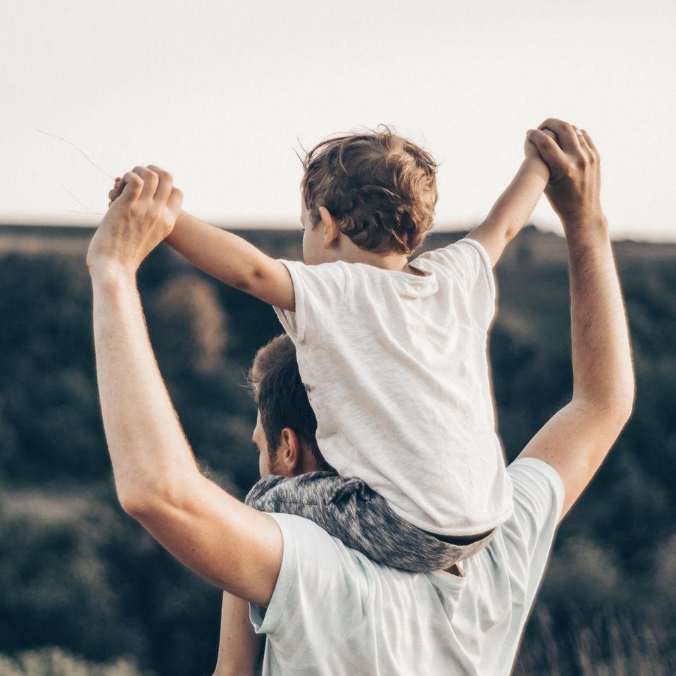 """Ein trauernder Vater legt uns ans Herz: """"Umarmt eure Kinder. Arbeitet weniger."""""""