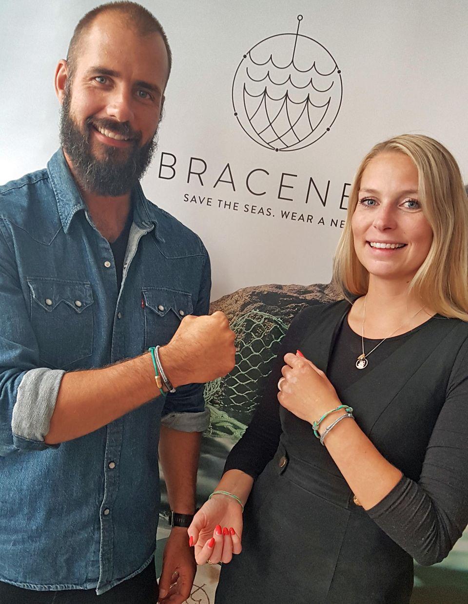 Bracenet-Gründer Benjamin Wenke und Madeleine von Hohenthal