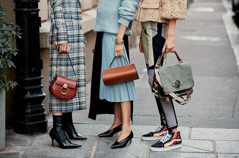 Lieblingsmarke der Französinnen: Französinnen auf der Straße