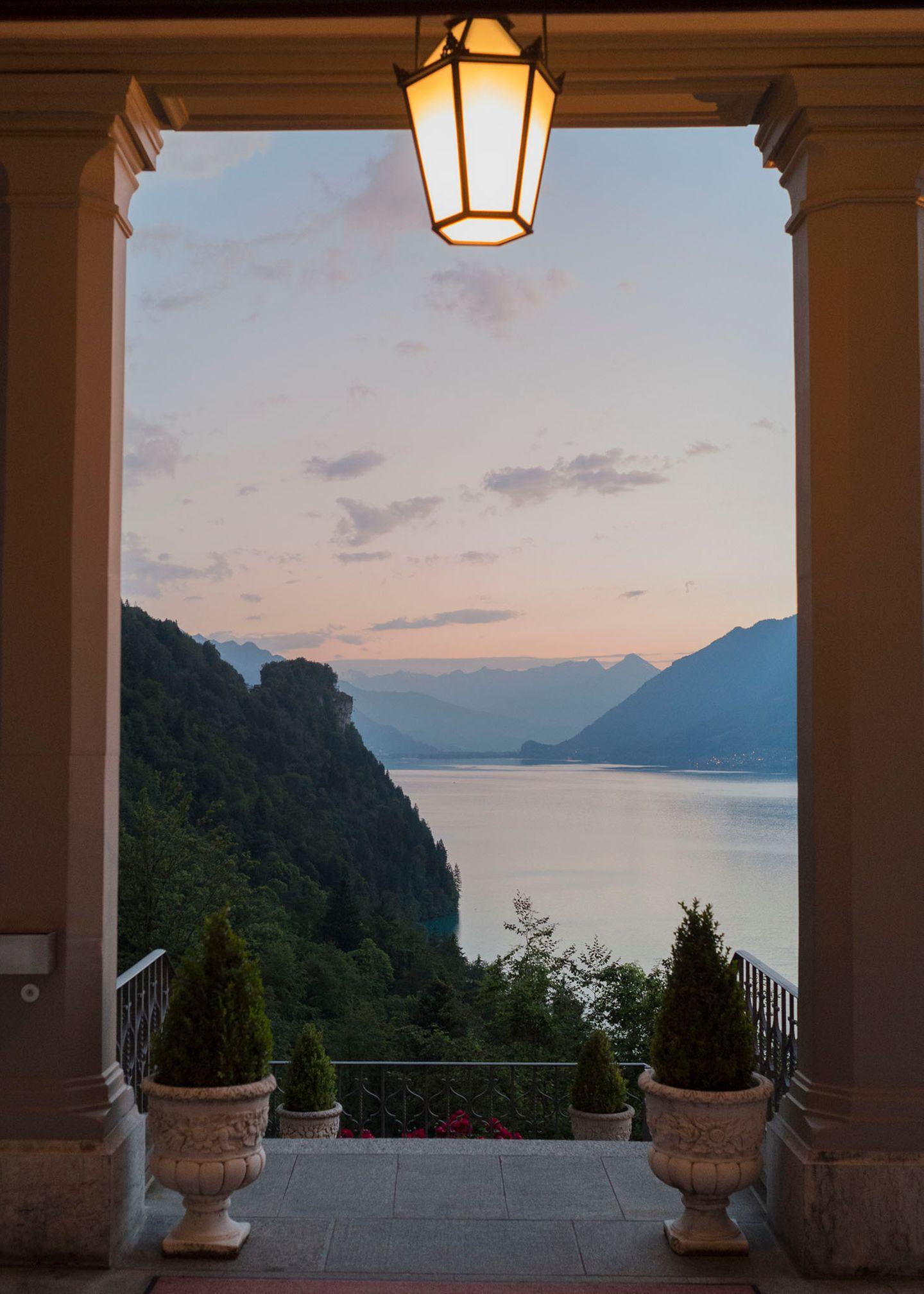 Wandenr in der Schweiz: Grandhotel Giessbach
