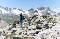 Wandern in der Schweiz: Oberengadin