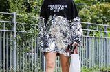 New York Fashion Week 2019: Frau mit Longpulli
