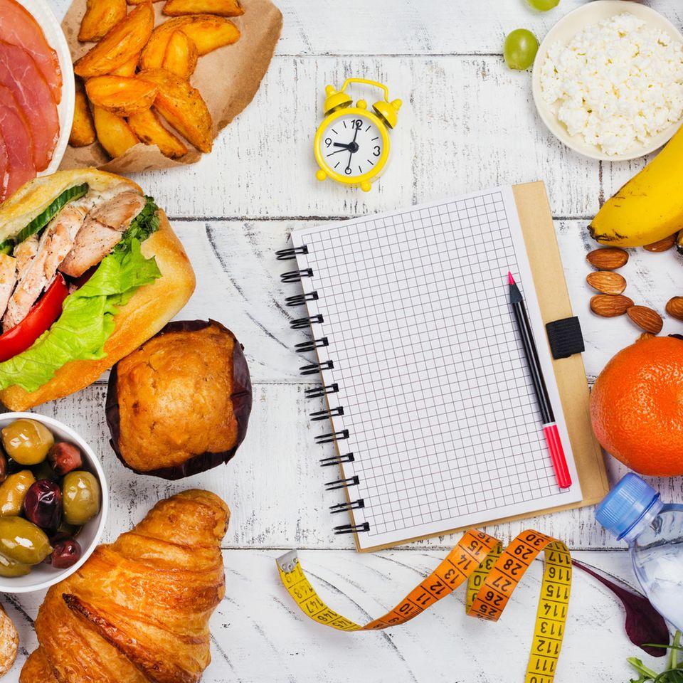 Renegade Diät: Lebensmittel und Tagesplaner