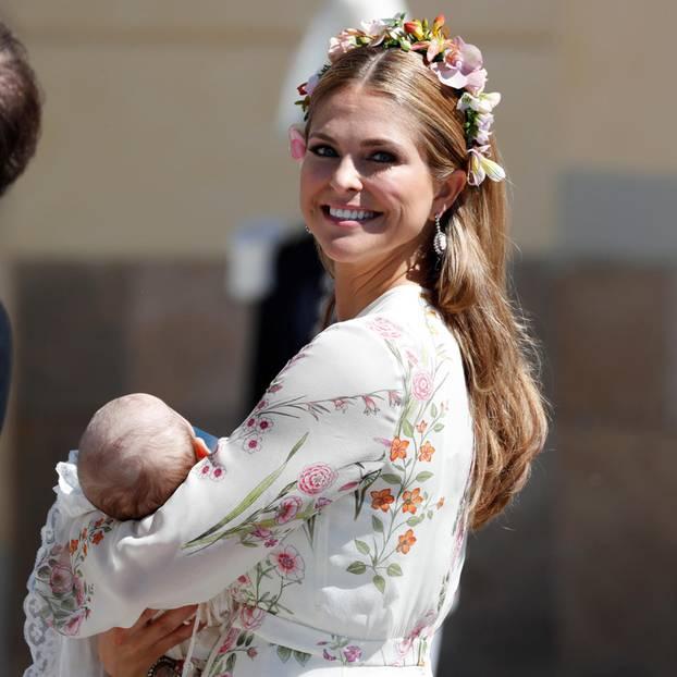 Prinzessin Madeleine mit Tochter Adrienne
