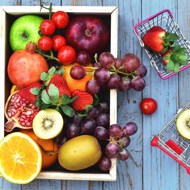 5 am Tag: Obst und Gemüse
