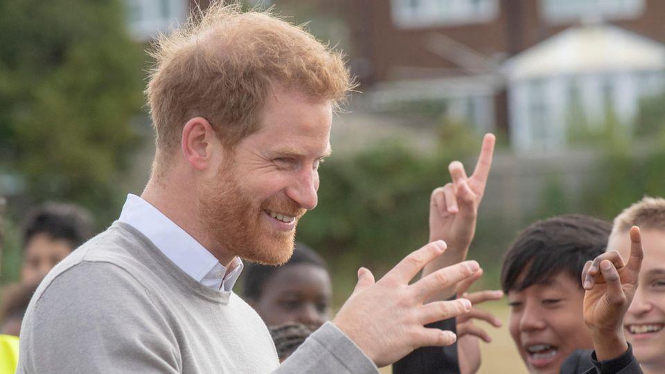 Prinz Harry: Hier gibt er zu erkennen wie bodenständig er ist!