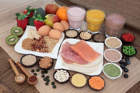 Strunz Diät: Eiweißreiche Lebensmittel