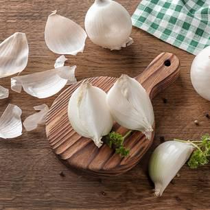 Mittelohrentzündung-Hausmittel: Zwiebeln