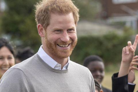 Prinz Harry: Überglücklich