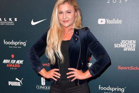 Sophia Thiel: Die Fitness-Bloggerin bei einer Veranstaltung